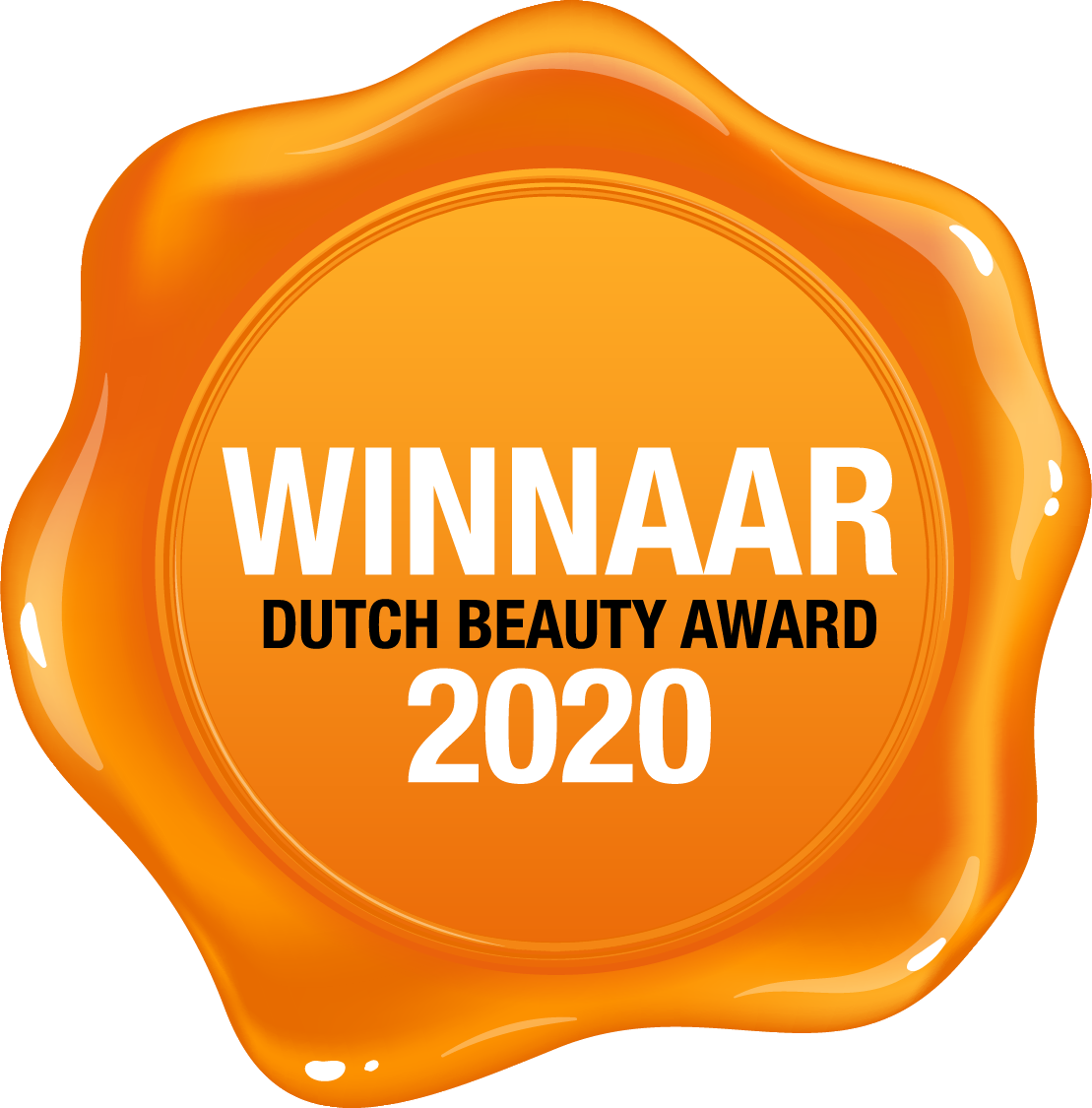 Winnaar Dutch Beauty Awards 2020